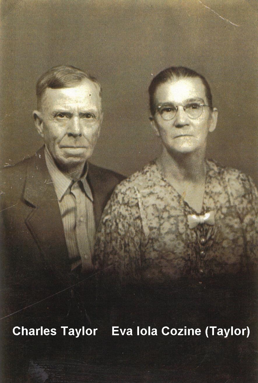 Charles and Eva Iola Cozine Taylor