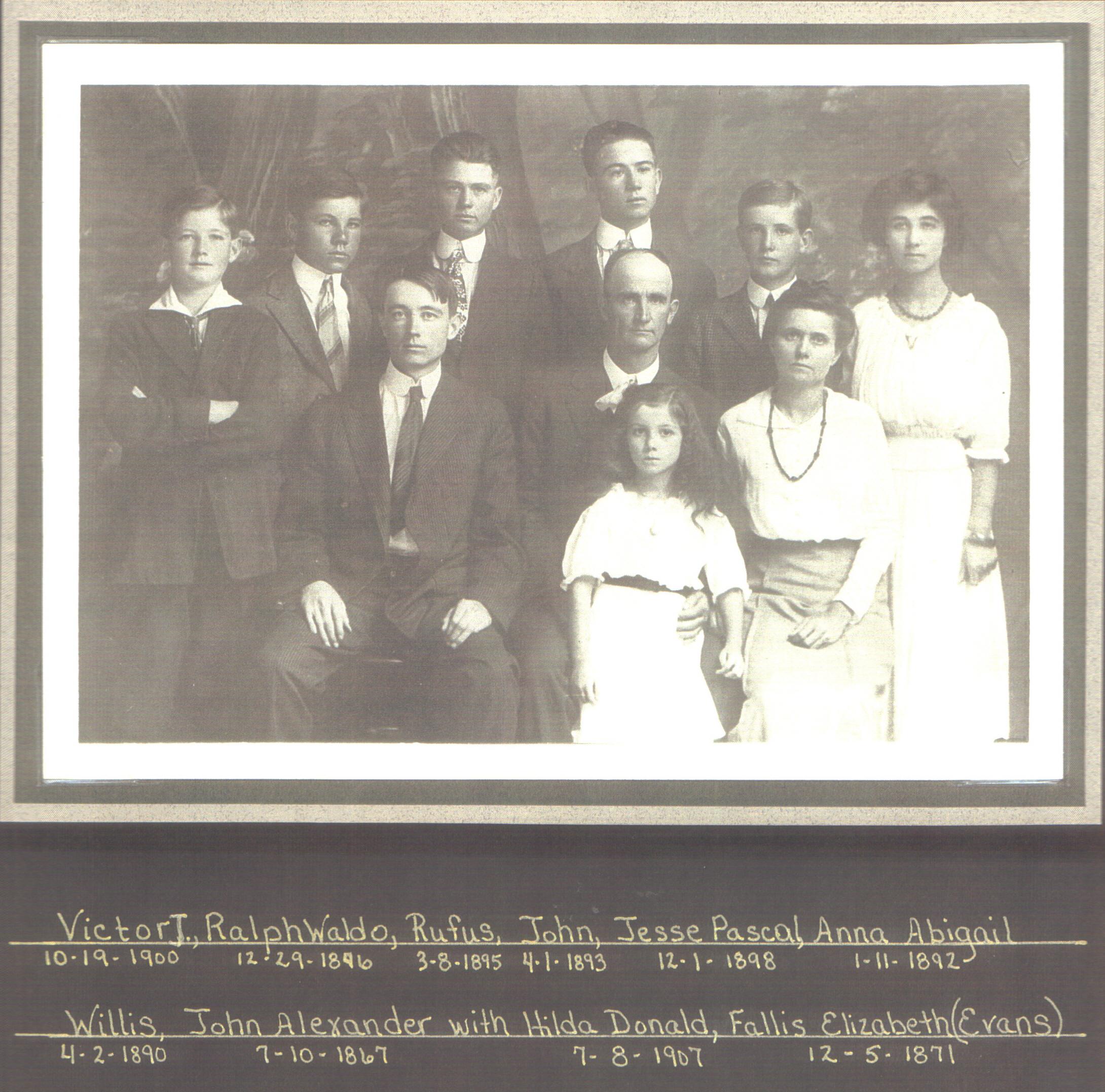 John A Wood & Family