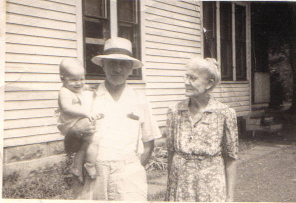 George Sr. and Gary Johnson, August 2, 1948