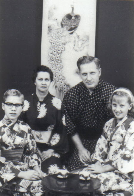George Jr., Eileen D., Gary, and Jo Ann Johnson